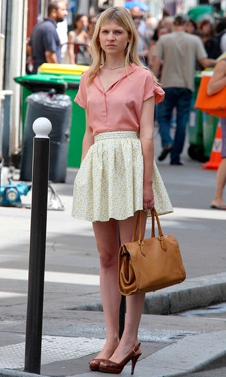 clemence poesy pink blouse blouse