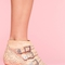 Starburst stud boot - bone in  shoes at nasty gal