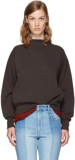 Isabel Marant etoile sweatshirt black sweater