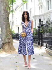 northern light,blogger,jumpsuit,shoes,bag,jewels,finery london,floral jumpsuit,camel bag,pumps,pointed toe pumps,nude pumps,office outfits,summer outfits
