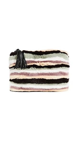 fur pouch bag