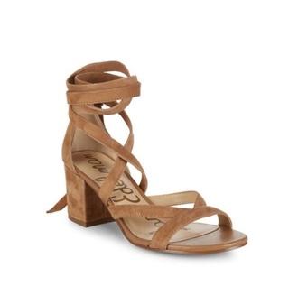 shoes tan block heels
