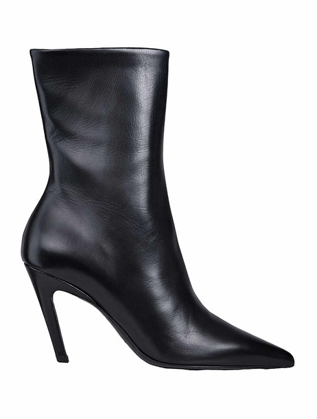Balenciaga classic ankle boots black shoes