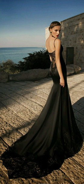 dress prom dress elegant dress black prom dress beautiful black dress