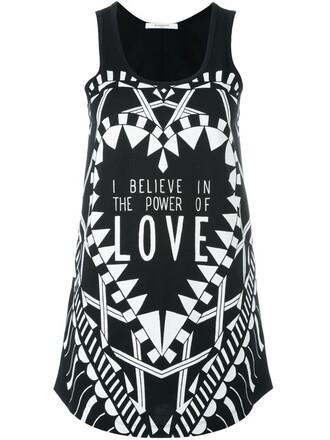 top vest top love black