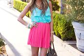 skirt,pink