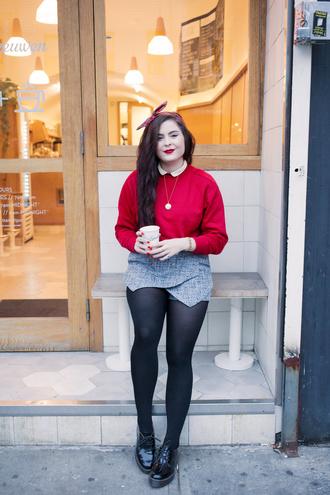 noelles favorite things blogger sweater bag shoes