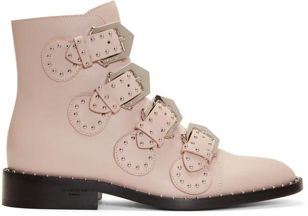 Givenchy studded elegant pink shoes