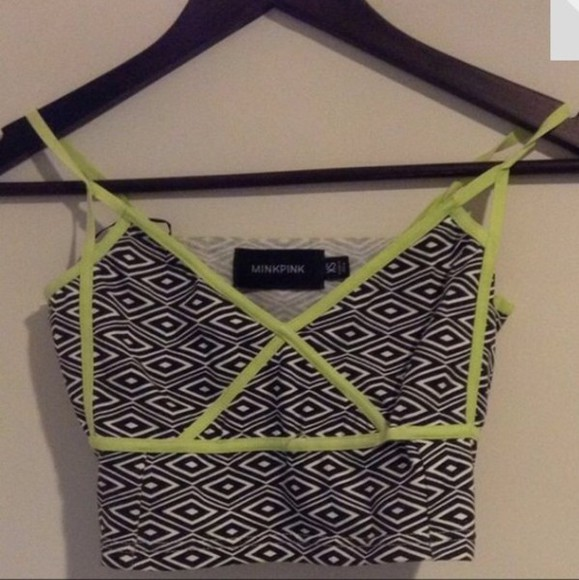 minkpink top crop tops