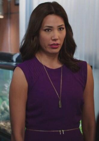 dress purple michaela conlin bones tv show angela montenegro