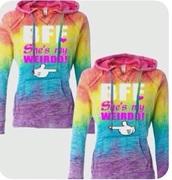 sweater,rainbow,bff,sweatshirt,fashion,style,friends