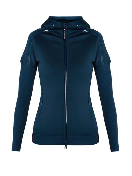 ADIDAS BY STELLA MCCARTNEY jacket zip dark blue dark blue
