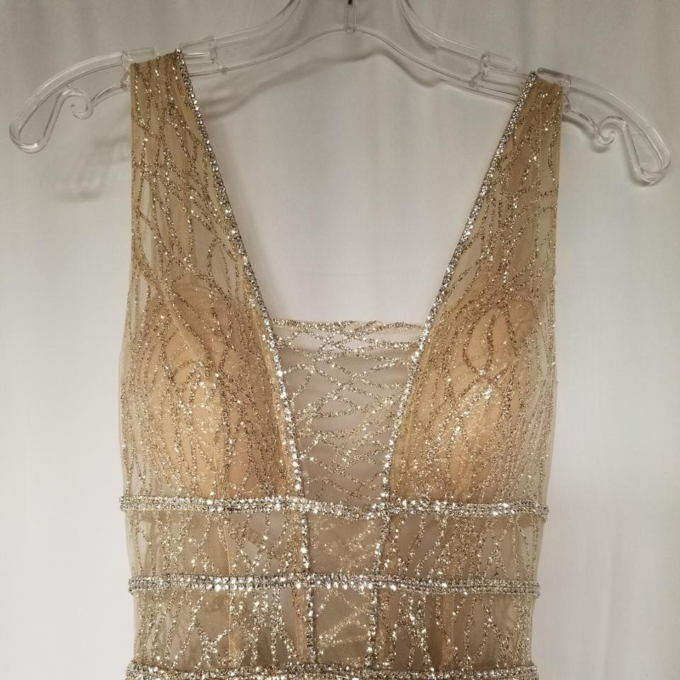 aefee8942f3d49 Berta Bridal Champagne 16-101 Modern Wedding Dress Size 2 (XS) - Tradesy