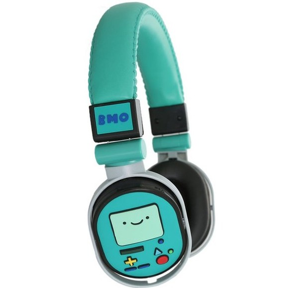 headphones jeans b.m.o adventure time