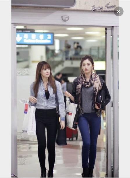 4fdd4888824c blouse after school nana after school orange caramel Nana im jin ah style  korean fashion K