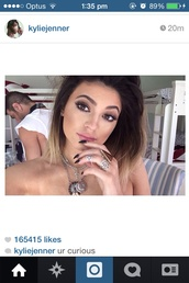 jewels,make-up,tutorial,kylie jenner,white,jewell's,tight