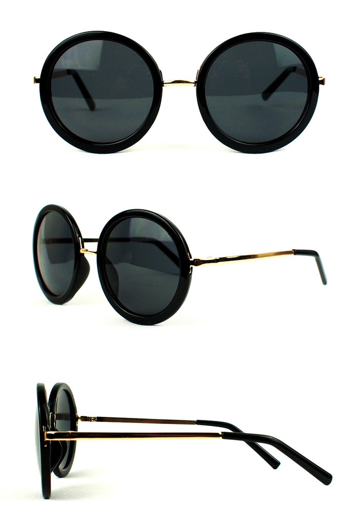 Retro inspired 90's oversized round sunglasses – littlebylittle