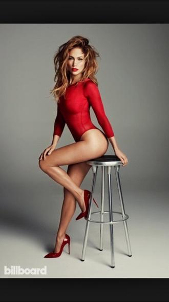 lipstick red bodysuit red lipstick red heels