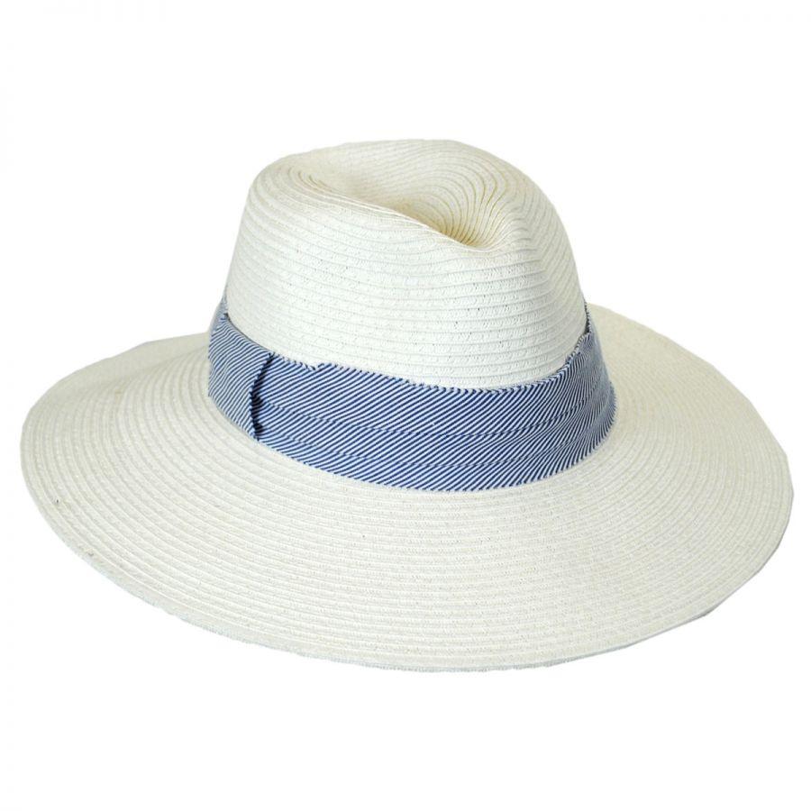 Brooklyn Hat Co Roppongi Fedora Hat Straw Hats da8383451f2