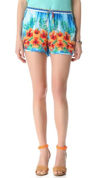 C&c california tropical play shorts