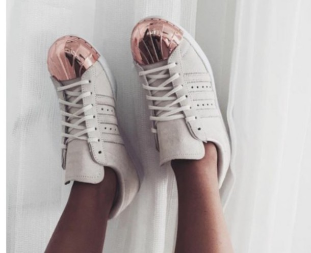 adidas superstars rose kappe
