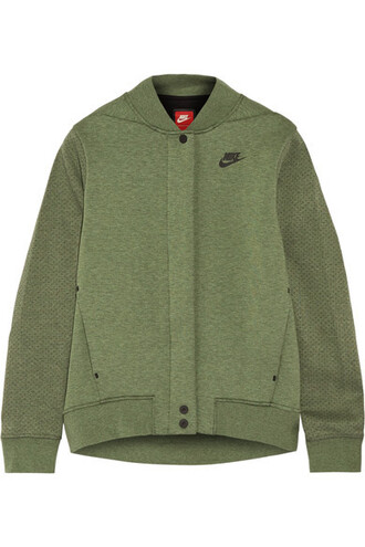jacket cotton green army green