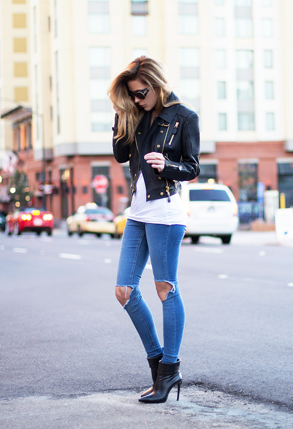sunglasses tank top jacket jewels shoes