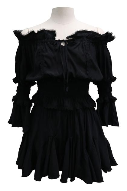 Tessa Crop Top And Floaty Skirt Set