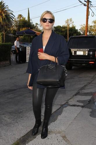 bag purse ashley benson jacket pants