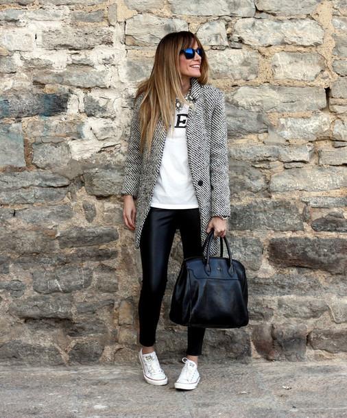 rebel attitude coat t-shirt pants shoes bag sunglasses