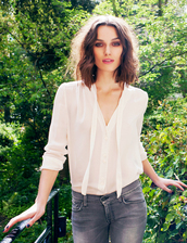blouse,keira knightley