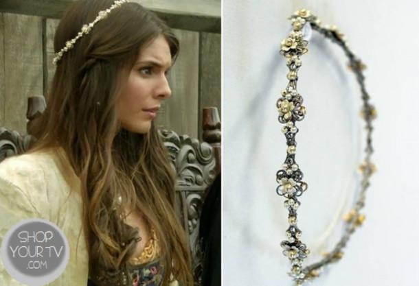 jewels flower headband floral beaded hair accessory jewelry reign flower  crown boho reign headband headpiece flower 7e479dd7f09