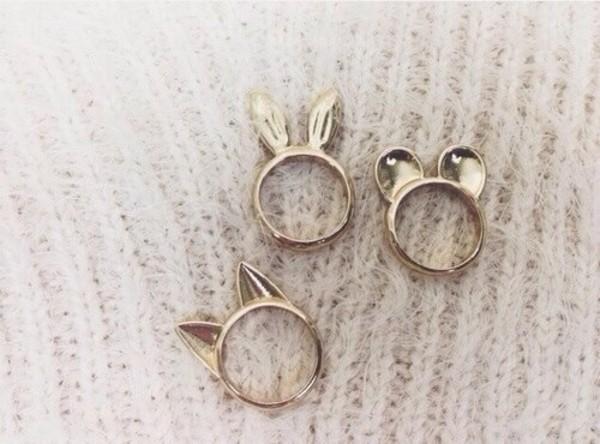 jewels ears rongs bunny bear cats