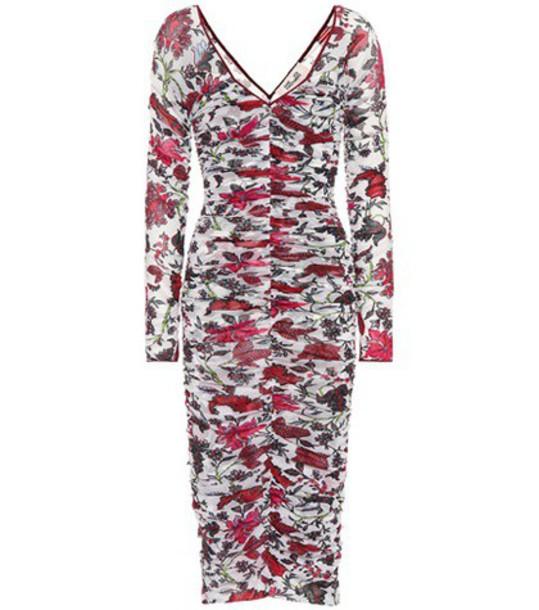 Diane Von Furstenberg dress printed dress floral