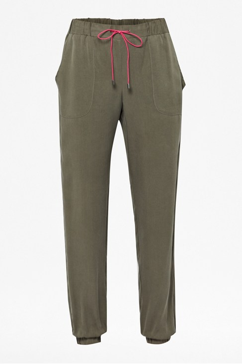 Santa Fe Drape Trousers - Trousers & Leggings - French Connection Usa