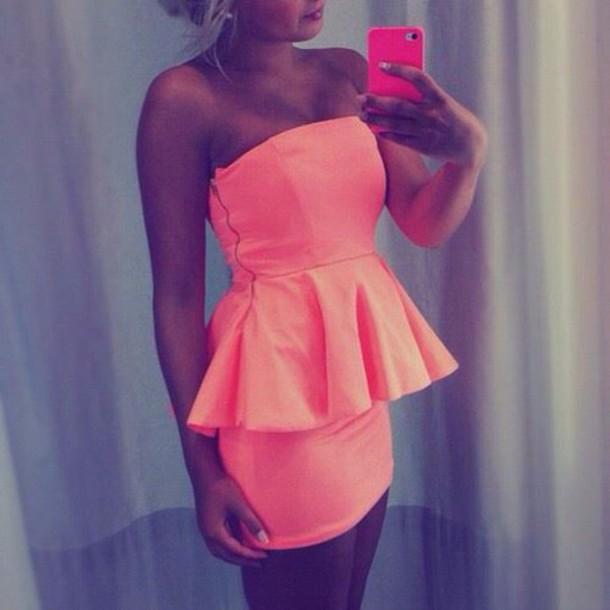 dress girl pink pink dress