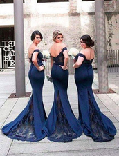 dress,bridesmaid,long dress,navy dress