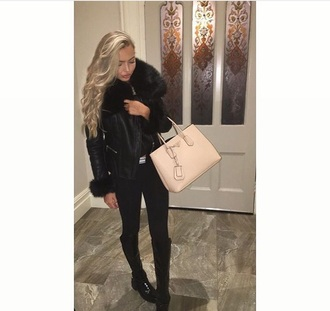 jacket daisey odonell blonde hair natural blonde black spring jacket fur fur scarf faux fur fur jacket faux fur vest army jacket coat military fur black boots black dress black high waisted pants black jumpsuit pretty pretty #bags pretty woman pretty little liars hoodie curly hair tan black tank top
