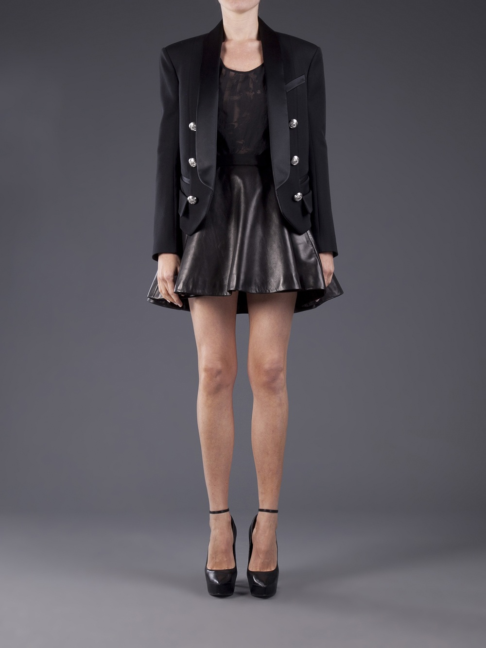 Balmain Structured Blazer - Patron Of The New - Farfetch.com