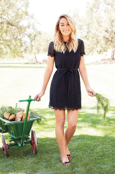 lauren conrad dress navy