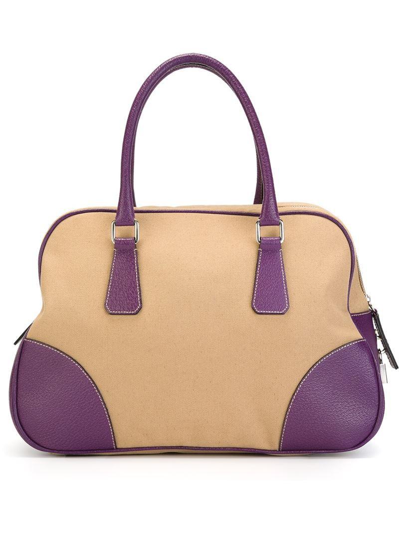 prada vintage hobo shoulder bag
