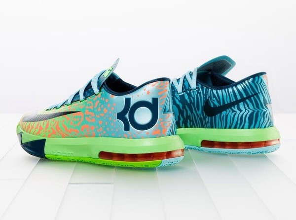 shoes kds liger kevin durant basketball shoes animal gradient kd liguars nike kd