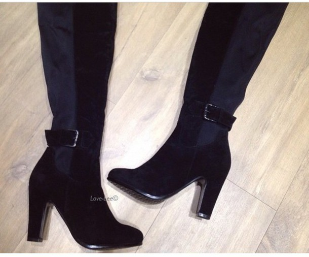 shoes over the knee boots