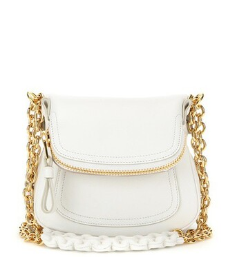 mini bag shoulder bag leather white