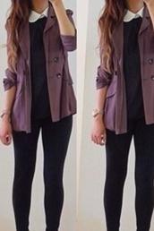 jacket,purple