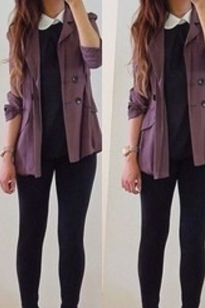 jacket purple
