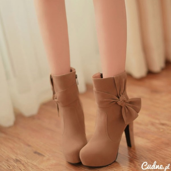 shoes brown shoes bows
