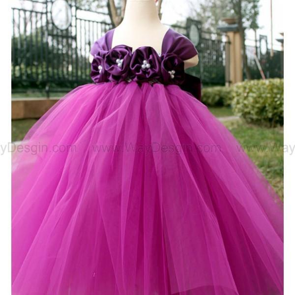 purple flower girl dress flower girl dress 2014 dress purple dress