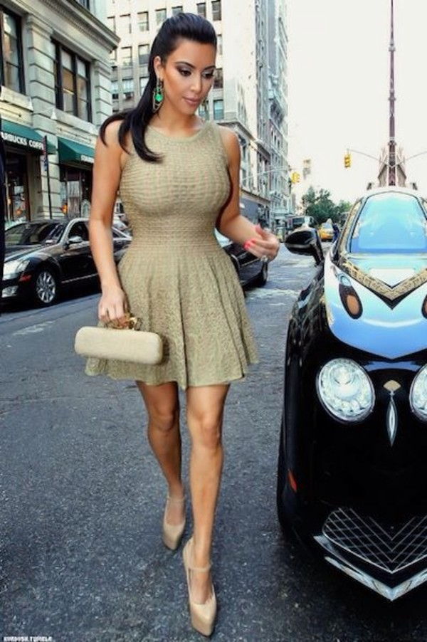 dress shoes kim kardashian dress nude high heels red bottoms kim kardashian