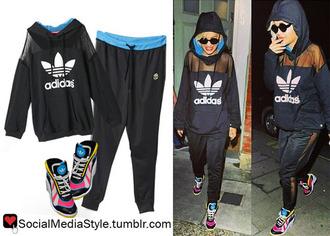 top rita ora adidas hoodie adidas originals black shoes